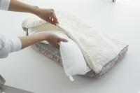 枕のお洗濯